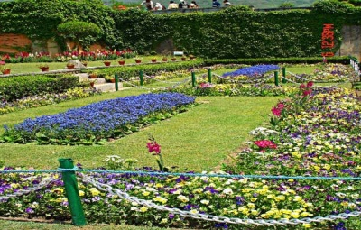 Nishat Garden Jammu Kashmir